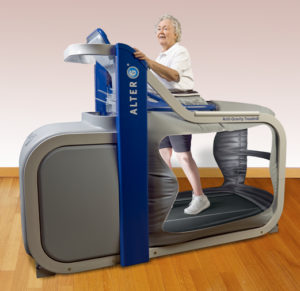 Alter G assistive technology
